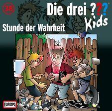 DIE DREI ??? KIDS - 038/STUNDE DER WAHRHEIT  CD NEU
