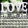 26 Large Wooden Letters Alphabet Wall Hanging Wedding Party Home Shop Decor #ev