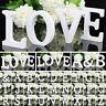 26 Grande IN Legno Lettere Alfabeto da Parete Festa Matrimonio Casa Negozio Deco