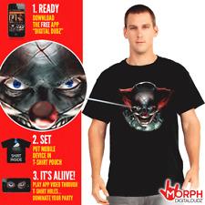 Digital Dudz Morph suit Freaky Clown Eyes T-Shirt T-Shirt Medium Halloween