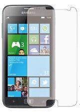 2 x Clear LCD Pellicola Proteggi Schermo Pellicola per Samsung Galaxy Ativ S (GT-I8750)