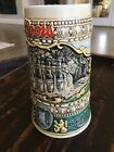 Coors Vintage 1990 Brewing Collectible Beer Mug Stein Made In Brazil