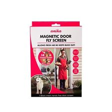 Anika 210 x 100 cm Magnetic Door Mesh Net Brand New & Boxed