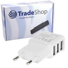 Mini 3-fach Universal USB Netzteil Stecker für Wiko Lenny 3 Robby Sunny
