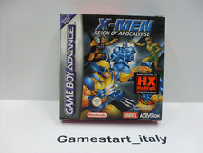 X - MEN REIGN OF APOCALYPSE (NINTENDO GAMEBOY ADVANCE GBA) NUOVO NEW