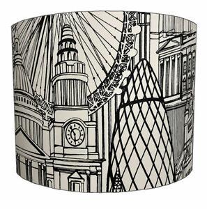 London Eye Lampshades, Ideal To Match London Eye Wallpaper & London Duvet Covers