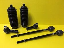 Fits to Santa Fe 01-06 Inner Outer Tie Rod End Set & Steering Boots 6pcs