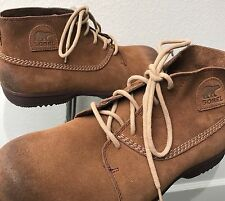 Sorel Greenly Chukka Suede Boot Cafe Men's Size US 10 EUR 43 (Style 1524421218)