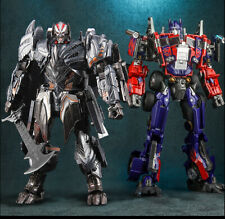 Transformable Robot Optimus Prime Megatron M01 and MW001 Oversized 30CM Toy