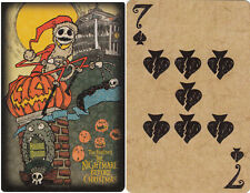 2011 Disney Parks The Nightmare Before Christmas Playing Card - 7 of Spades
