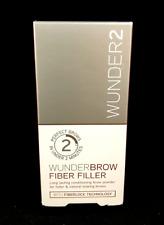 Wunder2 Wunderbrow Brow Fiber Filler BLACK / BROWN