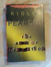 SIGNED The Art of Deception Ridley Pearson 1st Ed/1st Printing 2002 HCDJ