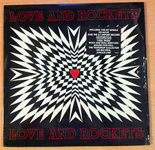 "LOVE & ROCKETS   "" love & rockets "" -   Vinyl Lp 12""   -  9715-1-R  -  1989 US"