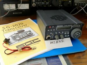 SGC-2020 HF Portable Transceiver, w/ADSP, rugged, robust -- NICE!