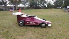 """Custom """"Indy"""" Car Shriner parade go cart"""