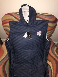 Adidas Usa Volleyball Hoodie Sleeveless NWT Size 3XL Mens