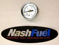 PRECISION INSTRUMENT HIGH PRESSURE GAUGE DIAL 0-30 PSI PROPANE AIR COMPRESSOR