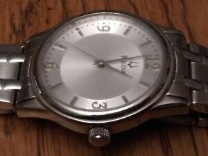 Men's Bulova Watch Tuning Fork Wristwatch Bulova Mans Watch Men Gents Beautiful