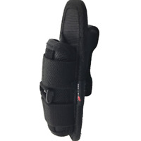New Flashlight Pouch Holster Belt Carry Case Holder with 360 Degrees Rotat