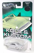 Hot Wheels Kool & Kustom LIMITED EDITION COLLECTION PONTIAC GTO SILVER
