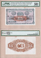 1949 £5 Provincial Bank of Ireland Limited, Northern Ireland. PMG AU50 Condition