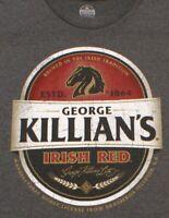 Official Killians Irish Red beer brewery T-shirt, Heineken France, Big Size 4XL