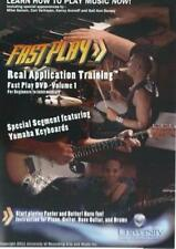 Fast Play: Real Application Training Volume 1 DVD VIDEO MOVIE FastPlay music