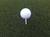 Country Club™ Tee Turf Golf Mats 5' x 5' Golf Practice Mat - No-Foam Type Mats