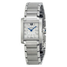 Cartier Tank Francaise Silver Dial Ladies Watch WE110006