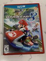 Mario Kart 8 (Nintendo Wii U, 2014) with OEM Steering Wheels Clean Tested Works