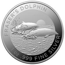 AUSTRALIE 1 Dollar Argent 1 Once Dauphin de Fraser 2021