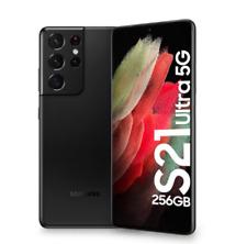 "SAMSUNG GALAXY S21 ULTRA 5G 256GB 12GB RAM PHANTOM BLACK DUAL SIM DISPLAY 6.8"""