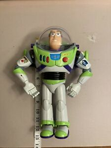 """Disney Toy Story Buzz Lightyear 1995 12"""" Talking Action Figure USED"""