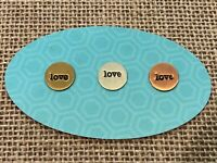 Authentic Origami Owl Mini Love Round Plate - New & Retired