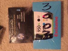 Genuine HP 950XL Black 951 Cyan Magenta Yellow ink cartridges Photo Pack
