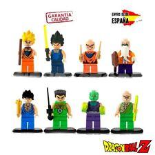 FIGURAS DRAGON BALL Z LEGO GOKU VEGETA JUGUETES BOLA DE DRAGON COLECCION DE LEGO