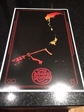 "2015 Kenny Rogers ""The Gambler"" The Last Deal Tour Poster 12"" x 18"" 300 of 550"