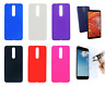"""PT Case Cover Gel TPU Silicone Nokia 3.1 Plus (4G) 6"""" + Optional Protector"""