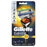 Gillette Fusion5 ProGlide Power Men's Razor, Handle & 1 Blade Refill each