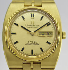 OMEGA CONSTELLATION AUTOMATIC GOLD 18K