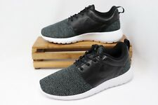 pretty nice fcfee ff65a Women s Nike Roshe One Knit Running Shoes Black cool Grey-wht Ah6801 001  Size