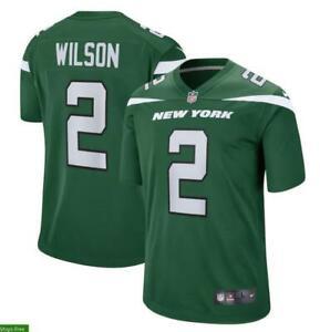 Zach Wilson Green Men's Game Jersey Jets