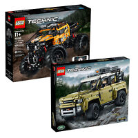 LEGO Technic 4X4 X-treme Off-Roader Truck & Land Rover Defender Twin Combo Pack!