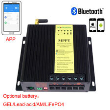 40A MPPT Solar Charge Intelligent Controller & Bluetooth for PV Kit 12V/24V UK