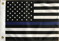 12x18 Police This Blue line Flag 12'x18' boat car flag grommets super polyester