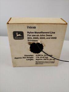 John Deere nylon monofilament weed eater trimmer line 85G 250G 350G 450G TY9149