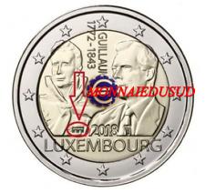 2 Euro Commémorative Luxembourg 2018 BU Duc Guillaume Pont de Selve