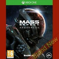 MASS EFFECT ANDROMEDA - Xbox ONE ~ Import Game in English - Brand New & Sealed