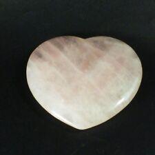 Rose Quartz Polished Crystal Heart (EA2907M) gem stone metaphysical love