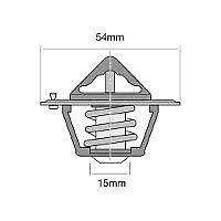 TRIDON THERMOSTAT FOR GM DIESEL(Detroit D/l Div.)4-53,4-53N,4-53T(inline),2-71